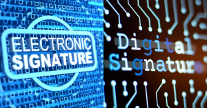 The Difference Between Electronic Signature and Digital Signature